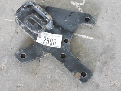 John Deere 4310 Tractor Right Compact Utility Mower Bracket Tag 2896
