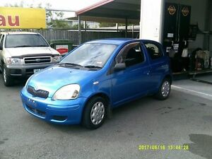 2003 Toyota Echo NCP10R Blue 4 Speed Automatic Hatchback Coopers Plains Brisbane South West Preview
