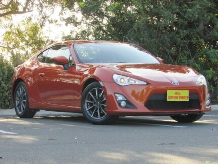2015 Toyota 86 ZN6 GT Orange 6 Speed Manual Coupe Blair Athol Port Adelaide Area Preview