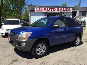 2008 Kia Sportage LX/4Cylinder/Accident Free/Automatic/Certified
