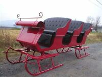 wagonettes sleighs carts hitch wagons and more....NEW