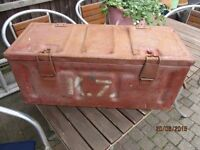 WW2 dated ammo box in very good condition for age