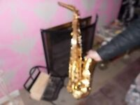 CONN AMERICAN ALTO SAX,ideal for learner solid instrument.