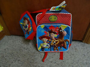 NEW TOY STORY WOODY BACKPACK WITH LUNCH BAG