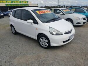 2006 Honda Jazz MY06 GLi White Continuous Variable Hatchback Officer Cardinia Area Preview