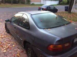 Honda Civic 1997 2 portes / SCRAP / PIECES