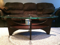 Coffee table + 2 side tables set