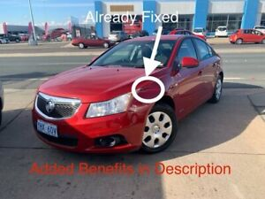 2012 Holden Cruze JH Series II MY12 CD Maroon 5 Speed Manual Sedan Fyshwick South Canberra Preview