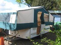 Trigano 575LX 6 berth Folding Camper, 2005. Trailer Tent Caravan