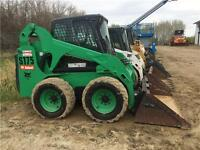 2008 BOBCAT S175 SKID STEER LOADER WITH CAB AND HEAT