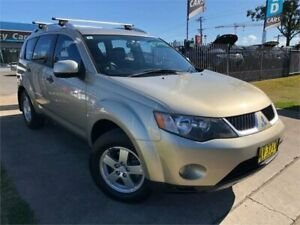 2007 Mitsubishi Outlander ZG MY08 LS Gold Constant Variable Wagon Mulgrave Hawkesbury Area Preview