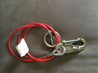 Brand new MSA 6 foot anchor sling- 1/4 inch cable diameter