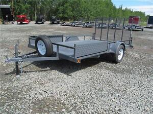 7' x 12' UTILITY WITH BRAKES Prince George British Columbia image 1