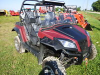 2014 Odes Raider 800 with power steering