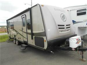 Ever-Lite Model 29RK Rear Kitchen Travel Trailer with 1 Slide.