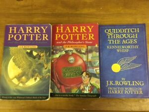 HARRY POTTER softcover books for sale - 3 books for $10.