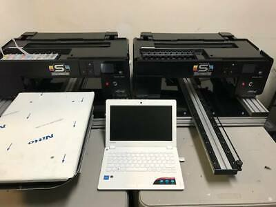 Two Spectra P600 Dtg Direct To Garment Printers W Brand New Print Head