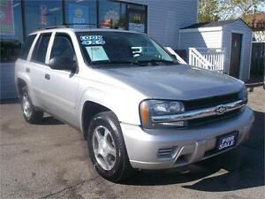 2008 CHEVROLET TRAILBLAZER LT1 * 4X4 * REAR AC/HEAT CONTROLS *