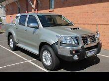 2013 Toyota Hilux HILUX 4X4 SR5 3.0L T DIESEL MANUAL DOUBLE CAB 1R61250 002 Sterling Silver Manual D Devonport Devonport Area Preview