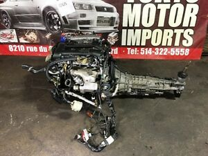 NISSAN SR20DET S15 MOTOR 2.0L WITH 6 SPEED MT TRANSMISSION ECU