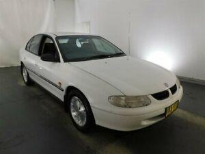 1999 Holden Commodore VT Equipe White 4 Speed Automatic Sedan