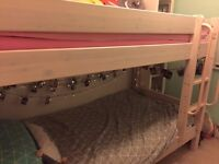 White bunk bed - Thuka - in great condition