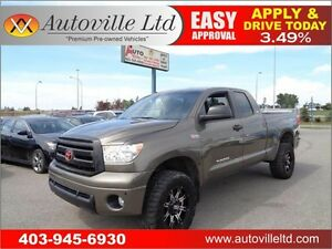 2012 Toyota Tundra SR5, TRD PACKAGE ,LIFTED 90 DAYS NO PAYMENTS