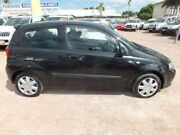 2007 Holden Barina TK MY07 Black 5 Speed Manual Hatchback Rosslea Townsville City Preview