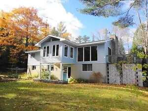 4 bedroom raised bungalow on 1.47 acre waterfront  $ 269,900