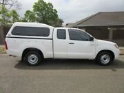 2007 Toyota Hilux GGN15R MY07 SR White 5 Speed Automatic Utility Croydon Burwood Area Preview