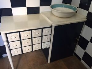 Vintage Sewing table converted into storage Petersham Marrickville Area Preview
