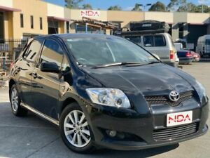2007 Toyota Corolla ZRE152R Levin SX Black 6 Speed Manual Hatchback Burleigh Heads Gold Coast South Preview