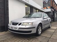 Saab 9-3 2.0 T Linear 4dr PARTS & LABOUR WARRANTY