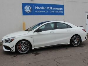 2017 Mercedes-Benz CLA LOADED AMG CLA 45 - NAV / HEATED LEATHER/