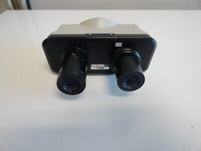Nikon Alphaphot Ys Microscope Head With 2 Cfwe 10x Eyepieces