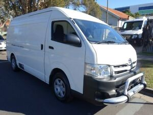 2012 Toyota HiAce KDH221R MY12 Upgrade SLWB White 4 Speed Automatic Van Homebush West Strathfield Area Preview