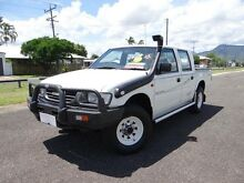 1997 Holden Rodeo TFG6 LX (4x4) White 5 Speed Manual 4x4 Crewcab Bungalow Cairns City Preview