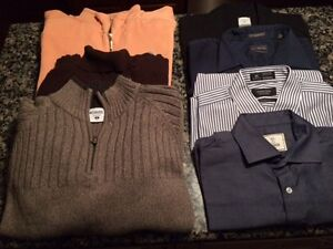 Mens' High-End New & Like-New Size Medium Clothing DEALS!