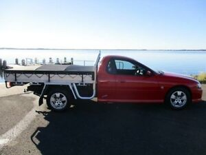 2004 Holden Commodore VZ ONE Tonner S Red 4 Speed Automatic Cab Chassis Horsley Wollongong Area Preview
