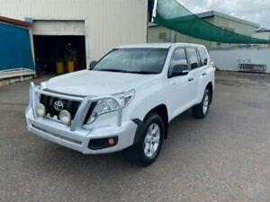2015 Toyota Landcruiser Prado KDJ150R MY14 GX (4x4) White 6 Speed Manual Wagon Berrimah Darwin City Preview