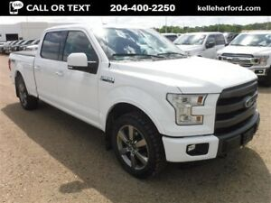 2015 Ford F-150 Lariat SuperCrew 4x4 157 EcoBoost