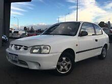 2000 Hyundai Accent LC GL White 5 Speed Manual Hatchback Beckenham Gosnells Area Preview