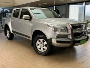 2015 Holden Colorado RG MY16 LT Crew Cab Silver 6 Speed Sports Automatic Utility Belconnen Belconnen Area Preview
