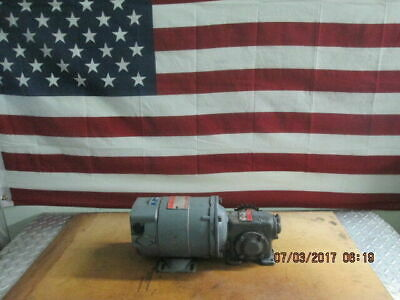 General Electric Ge 5bcd56cb162 Dc Motor With Winsmith 1 Mctr Speed Reducer
