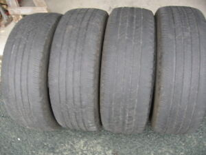 SET OF 4 MICHELIN 235/60R17(SAME AS 225/65R17) $90 FOR ALL 4