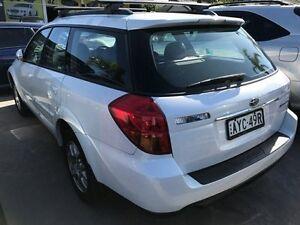 2005 Subaru Outback Premium Pack AWD White 4 Speed Sports Automatic Wagon Croydon Burwood Area Preview