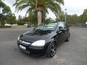 2005 Holden Barina XC MY05 SXI Black 4 Speed Automatic Hatchback Cabramatta Fairfield Area Preview