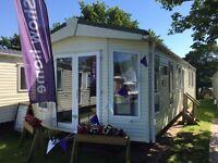Pemberton Marlow static caravan at Lydstep Beach Village nr Tenby with stunning views