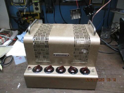 soundmaster  tube stereo amplifier