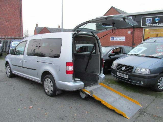 Volkswagen Caddy, wheelchair accessible, WAV, disabled car,